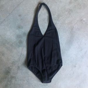 American Apparel Other - American Apparel Halter Bodysuit Black Size XS